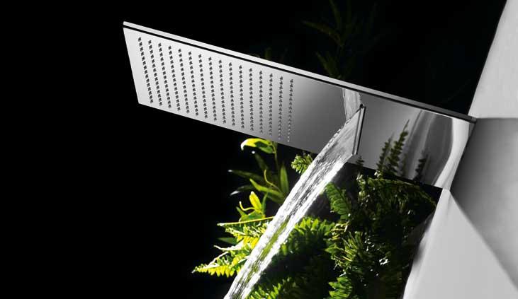 Griferia Vidrio Cascada Para Baño Diseno Elegancia:espalda? ¿Sois más de trasladaros al chorro de una cascada de